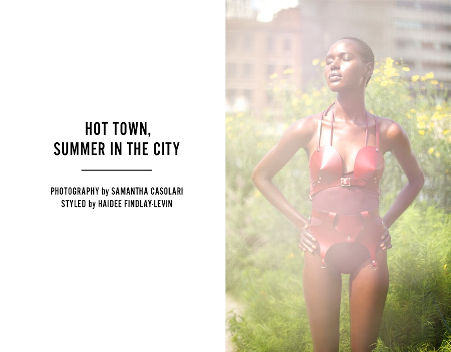 Opening Ceremony Hot Town, Summer In The City editorial