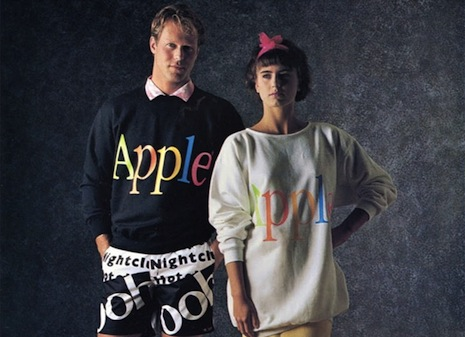 Style Vibes: Apple's 1980s fashion label