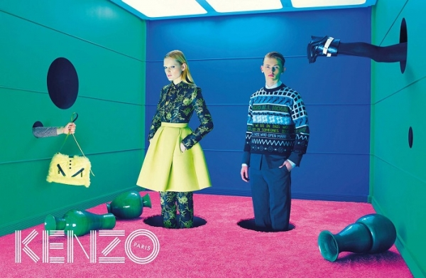 Kenzo AW 2014 campaign
