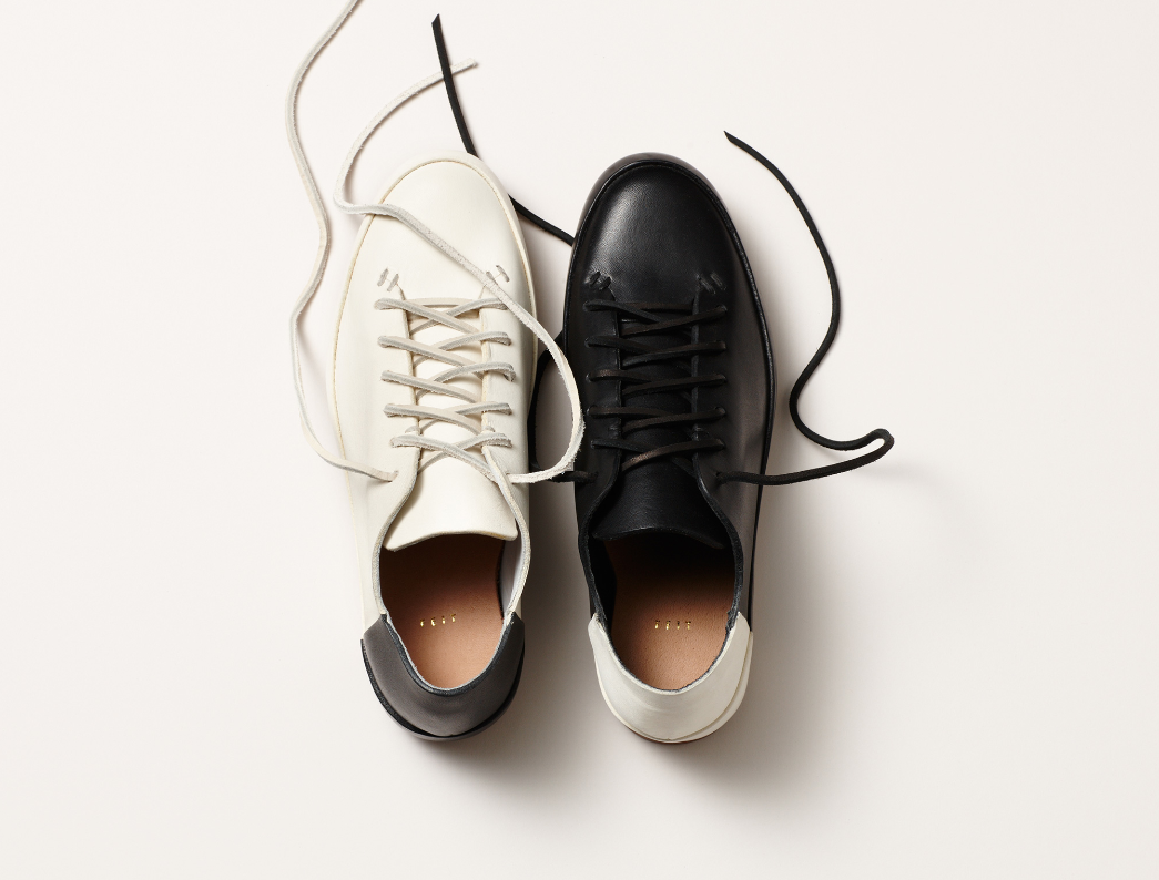 Feit launch bi-colour 'High and Low' court shoe