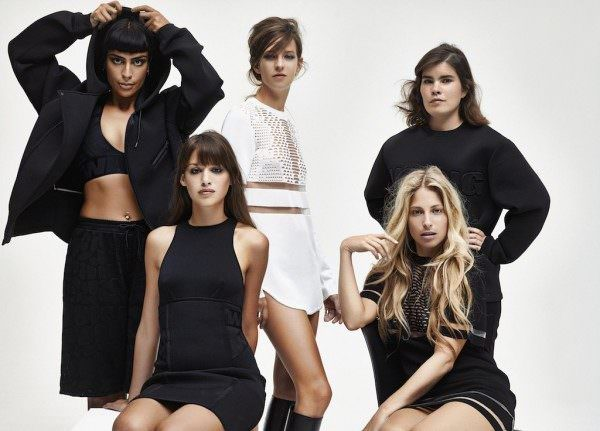 More pics of Alexander Wang for H&M released
