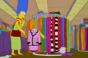 You can buy Marge Simpson's Chanel Suit