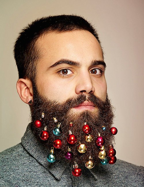 Are hipsters beards the new Christmas tree?