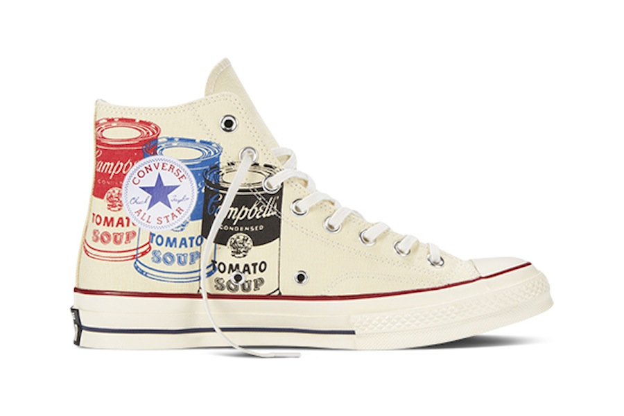 Take a look at the Converse All Star Andy Warhol collection