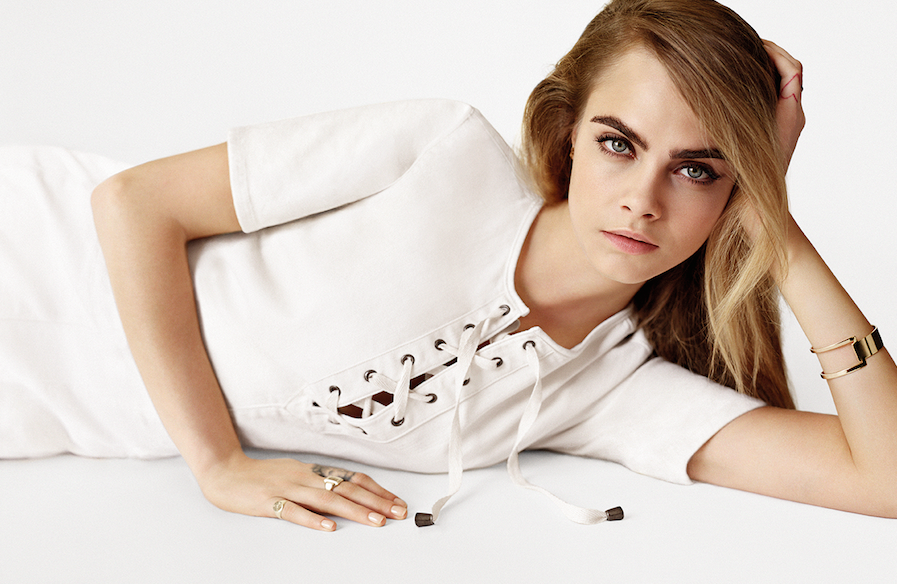 TOPSHOP once again taps Cara for global campaign