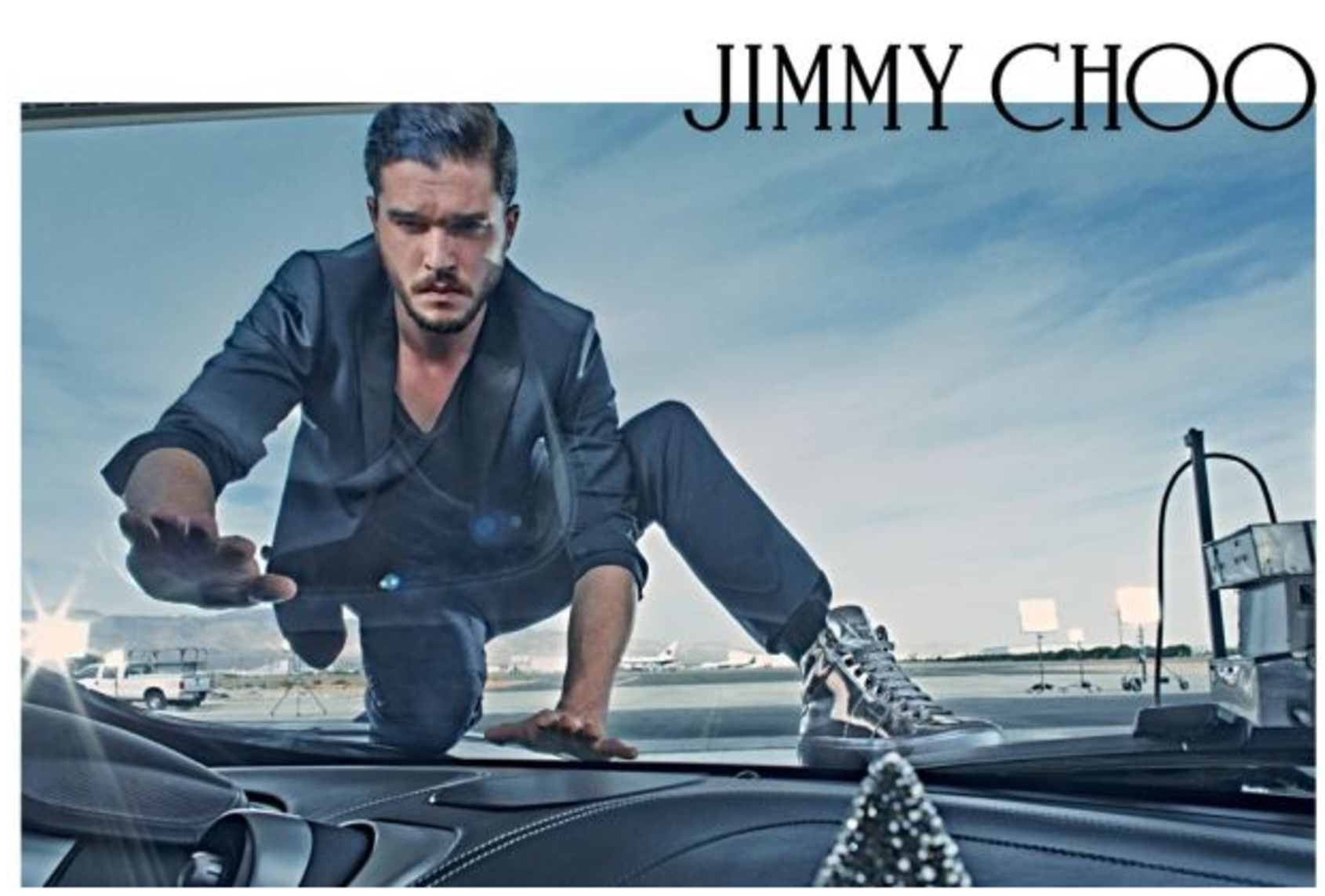 See Game of Thrones star Kit Harrington for Jimmy Choo