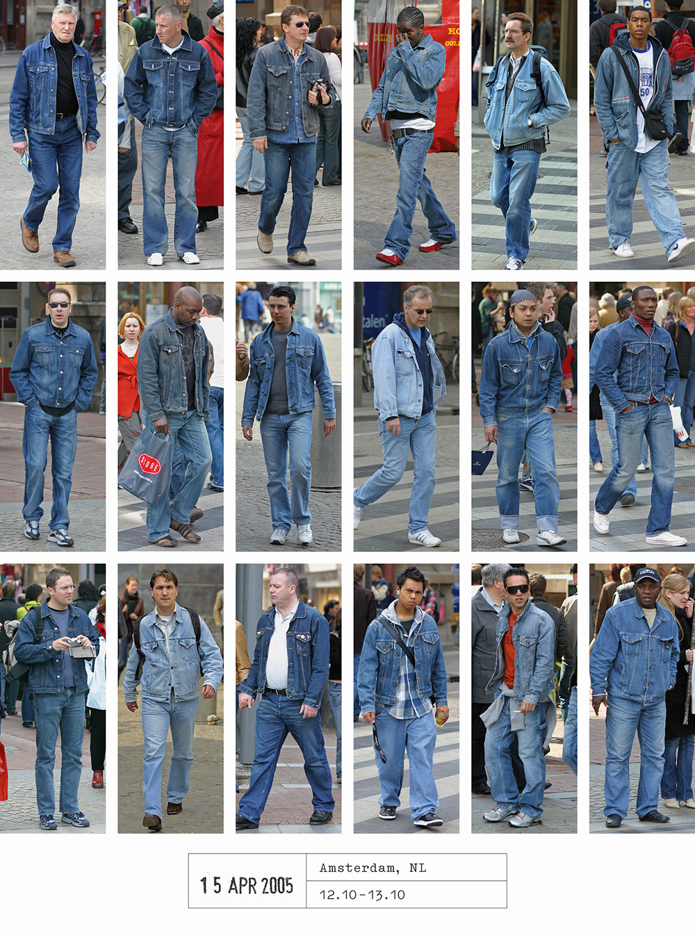 Dutch photographer shows us that we all dress exactly the same