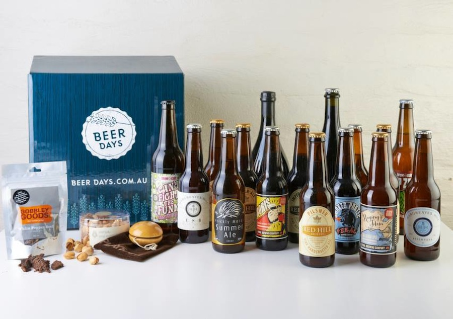Give your man a Beer Days Beer Box this Valentine's Day