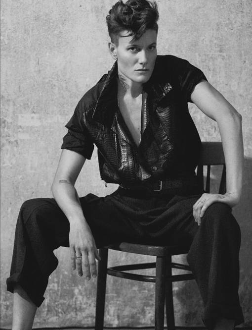 Meet Casey Legler, the first female signed exclusively as a male model