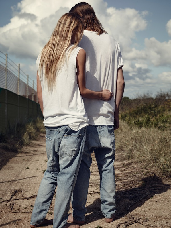 Bassike nails its first official denim campaign