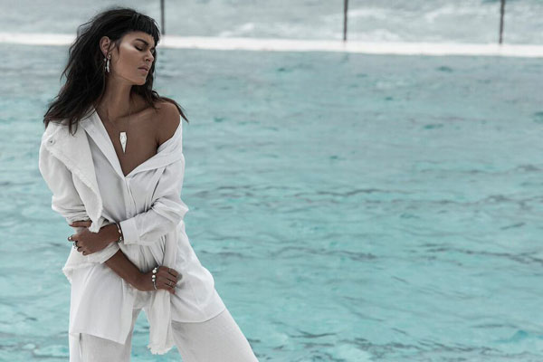 Amber Sceats' latest campaign starring Nicole Trunfio is a dream