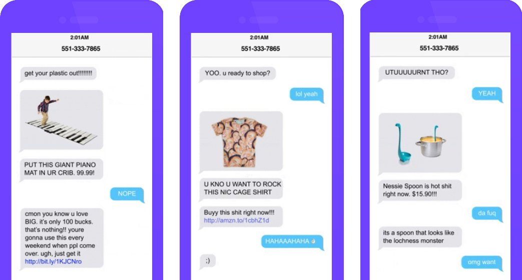 This app wants you to shop stupid while drunk