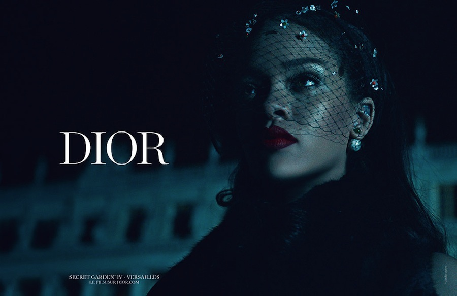 Rihanna unveiled her Dior campaign on social media overnight