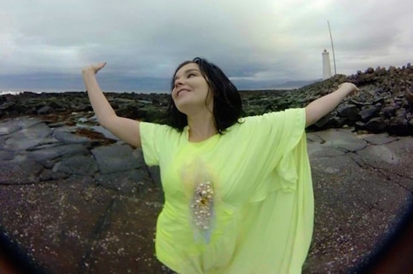 Björk has a new music video and she puts you inside it