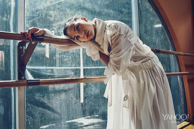 Maddie Ziegler gets sophisticated for Yahoo Style shoot