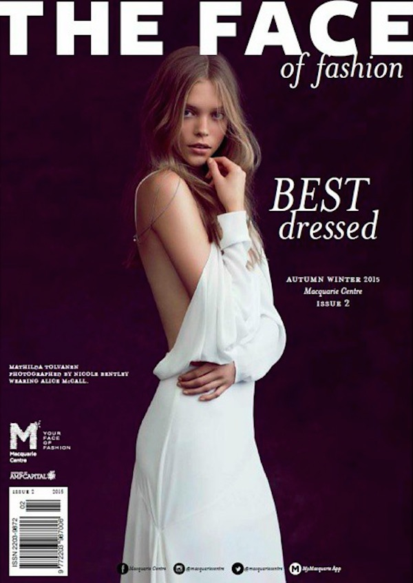 The Macquarie Centre was reported for this Alice McCall image