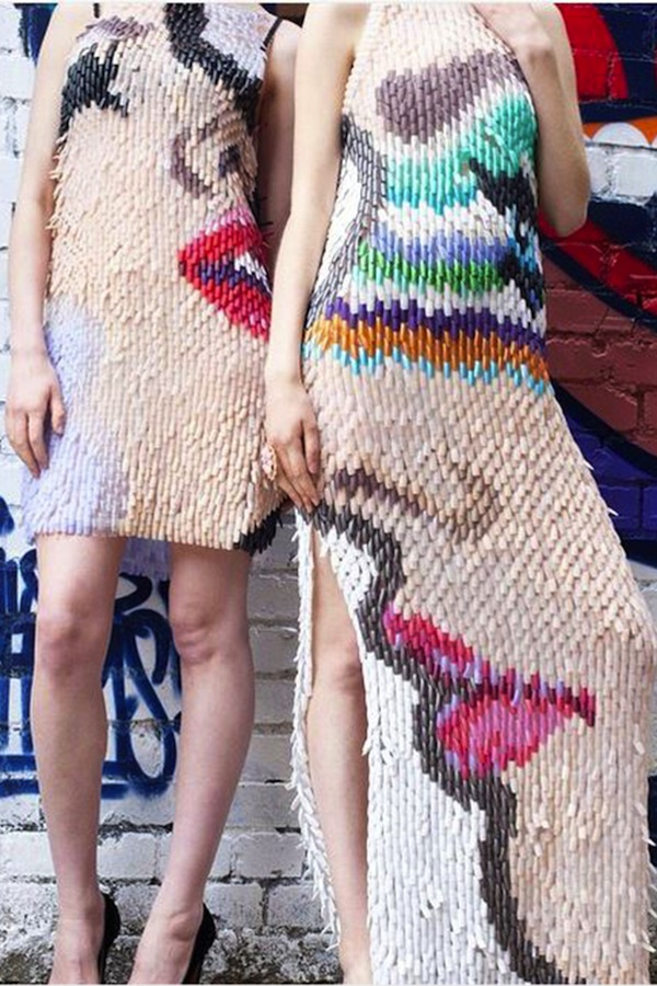 Design graduate, Anna Goswami, releases final collection made of fake nails