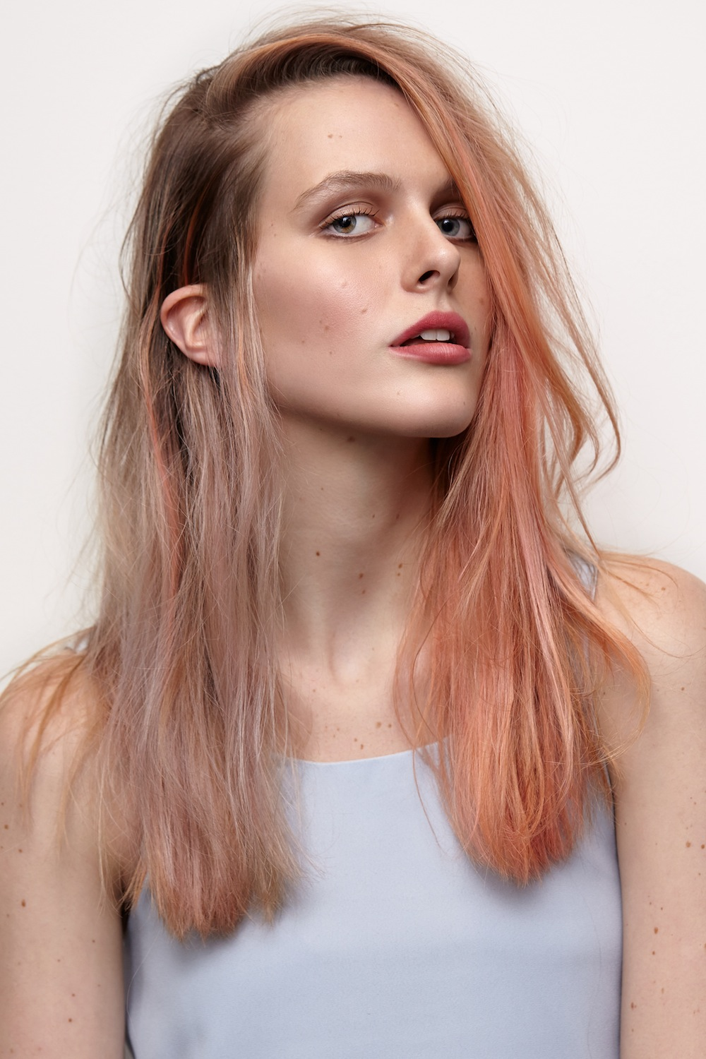 Get the look: temporary pink fix