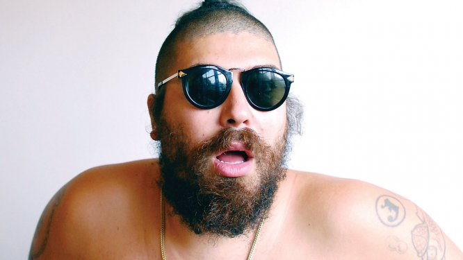 Instagram celeb The Fat Jew has just signed a modelling contract