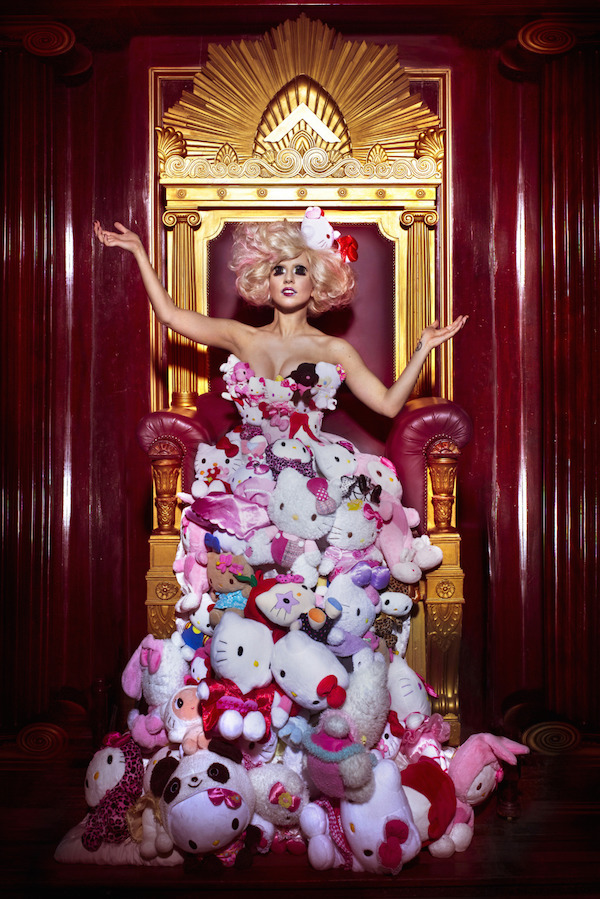 A Hello Kitty exhibition is happening