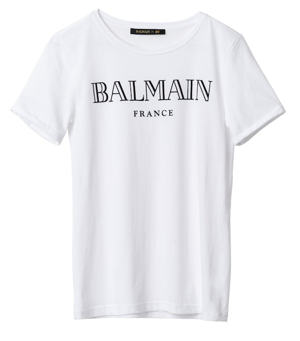Here's how much Balmain x H&M is going to cost