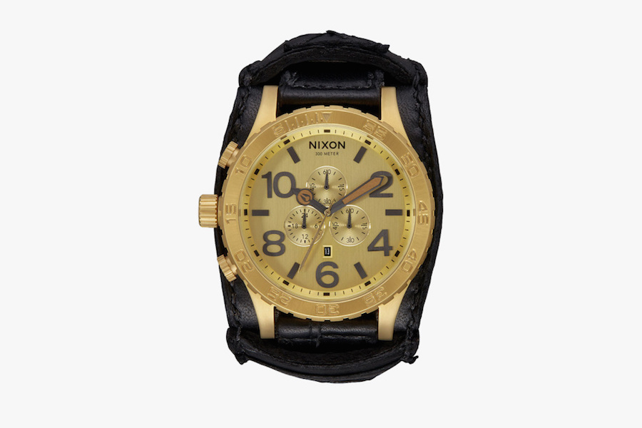 Nixon releases watches made from rockstars' leather pants, guitar straps, boots, more
