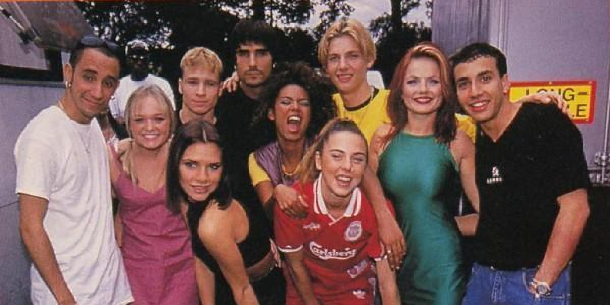 The Spice Girls and Backstreet Boys might be touring together