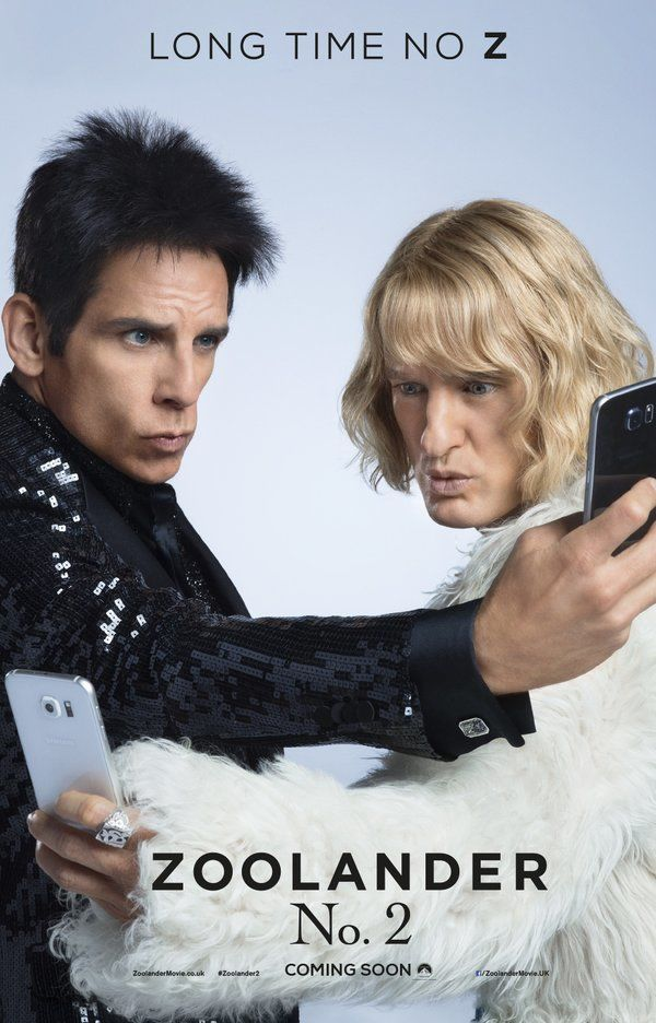 The first Zoolander 2 poster is really, really, ridiculously good looking