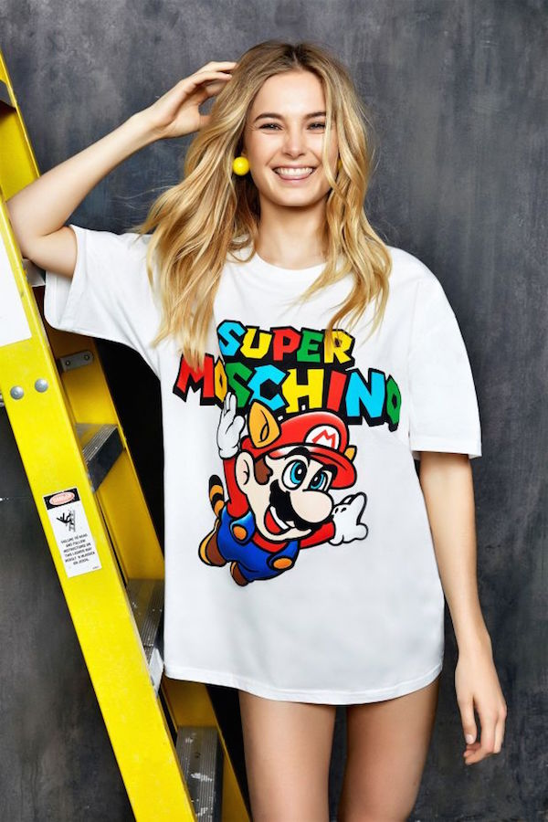 Nintendo and Moschino are collaborating