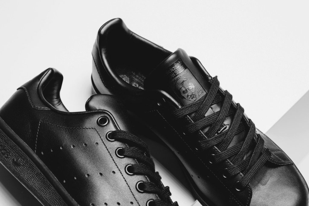Adidas has finally dropped an all-black Stan Smith