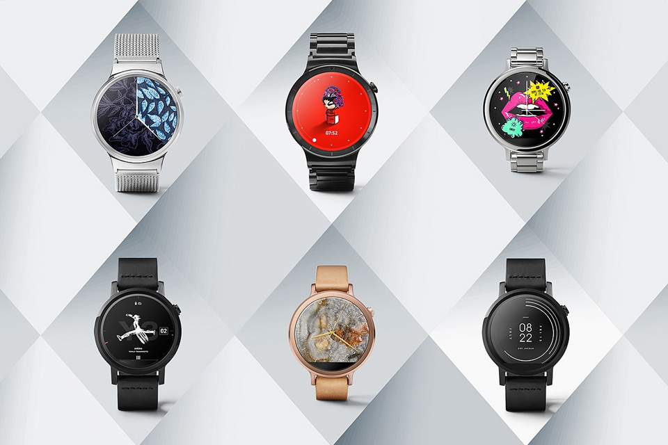 Android Wear taps Y-3, Harajuku Kawaii!, others to design watch faces