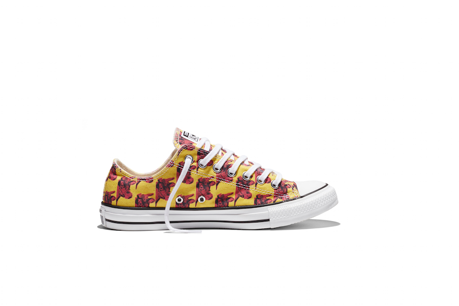 Converse x Andy Warhol drop pop art Chuck Taylors