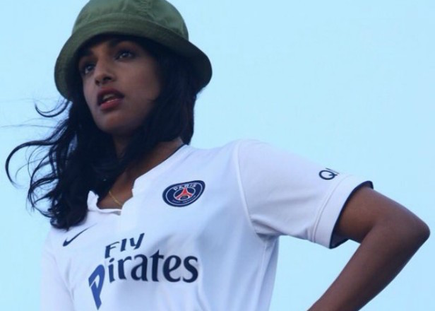 M.I.A. faces legal trouble for jersey she wore in 'Borders'