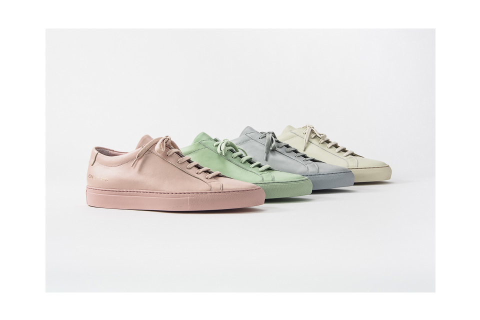 Common Projects blesses us with pastels, suedes, more for SS16