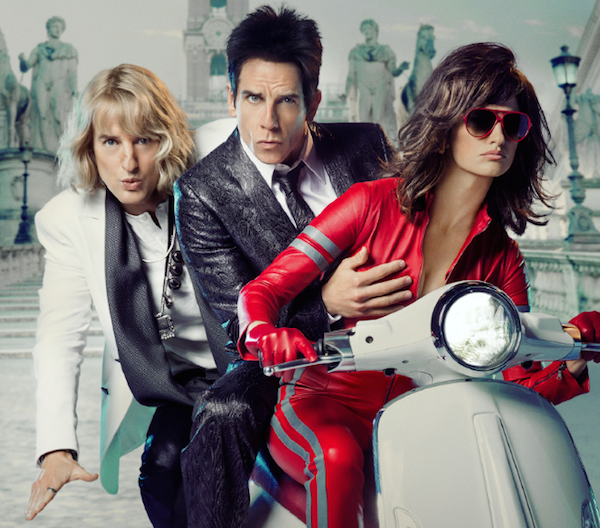We're giving away double passes to Zoolander 2