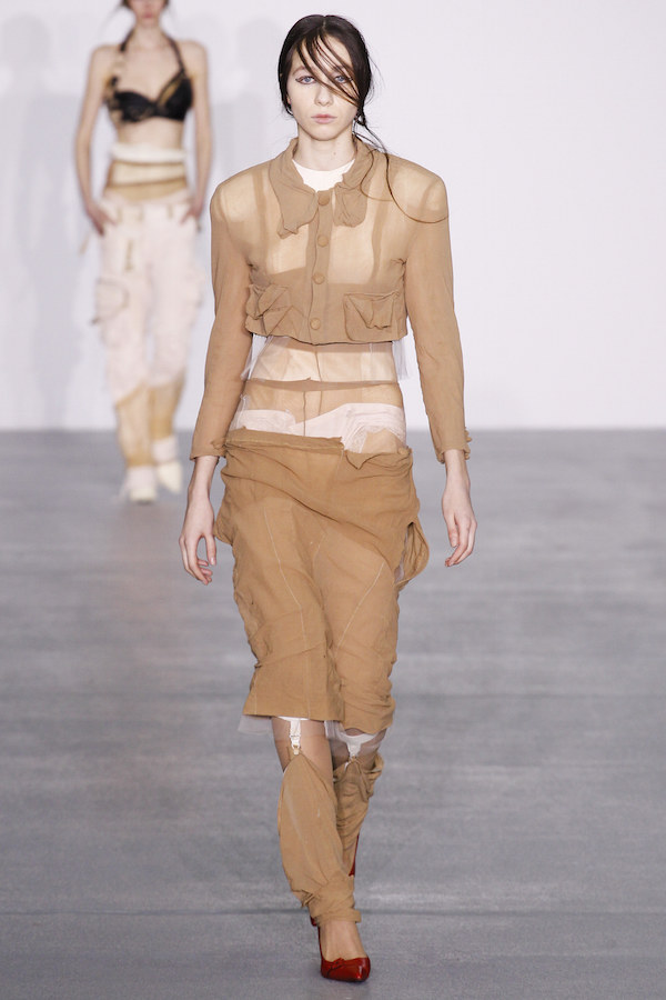 The Central Saint Martins runway happened again, was impressive as usual