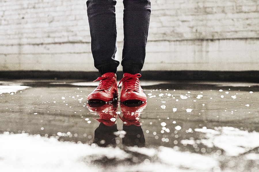 Brave the elements this winter with Converse Rubber Low Tops