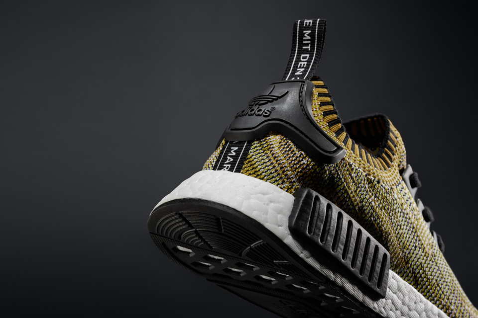 adidas Originals announces 'Yellow gold' colourway for NMD_R1 Primeknit collection
