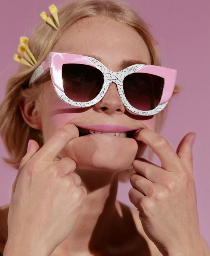Aussie legend Poppy Lissiman has collabed with Lazy Oaf on the best sunnies ever