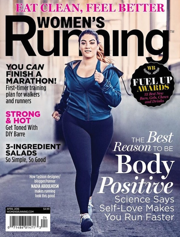Women's Running magazine has put a 'plus-size' model on the cover and it's awesome