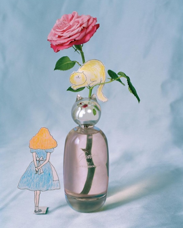 Grace Coddington is releasing a cat-shaped perfume because she knows what you want in life
