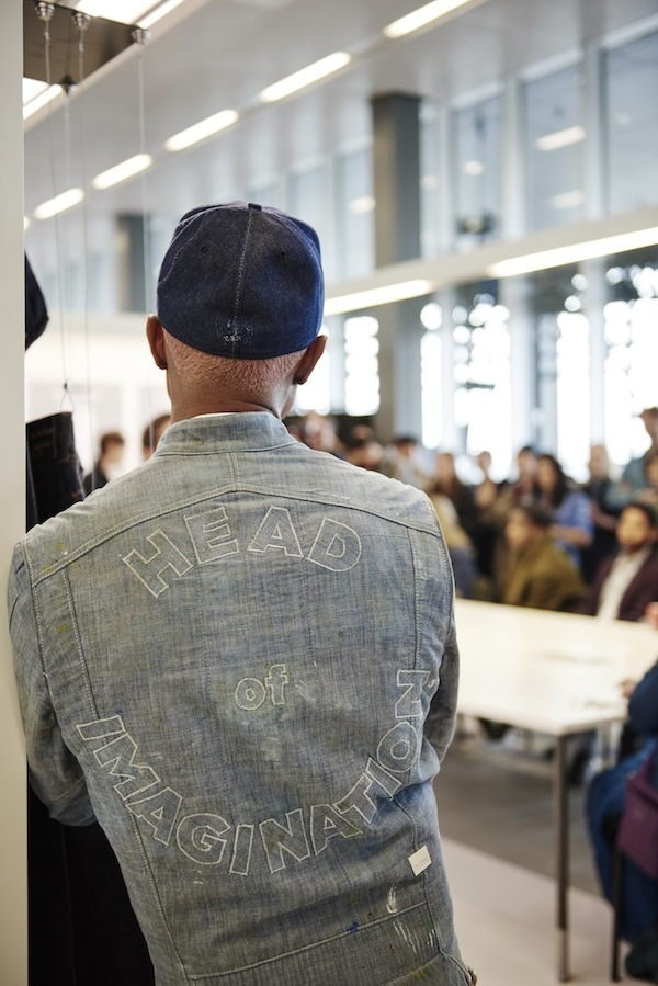 Pharrell cements place on denim throne, invites friends to G-Star factory