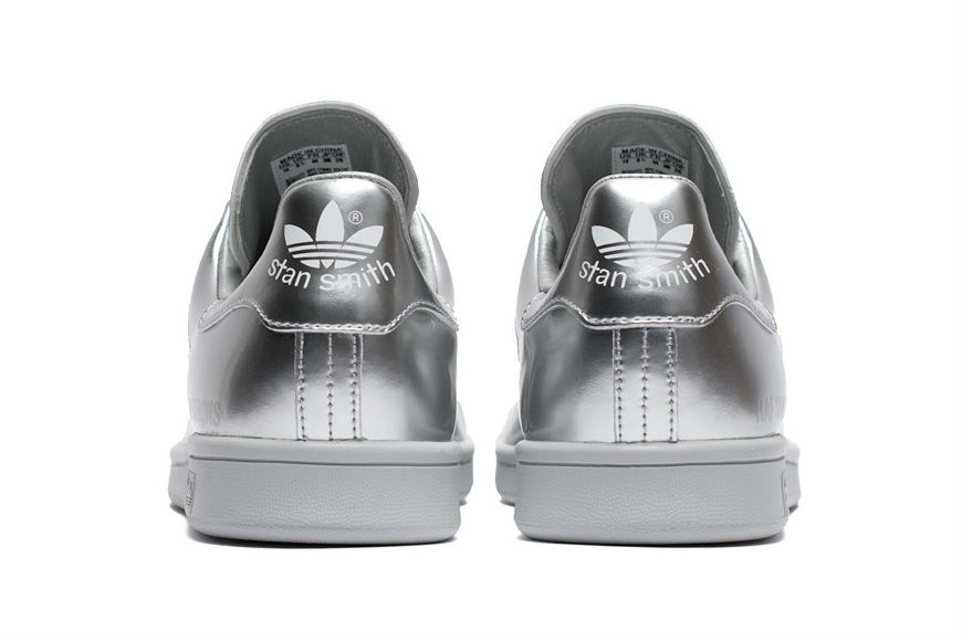 Stay calm, adidas by Raf Simons has released all-silver Stan Smiths
