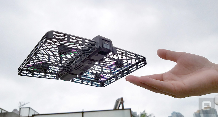 Forget selfie sticks, you need a selfie drone