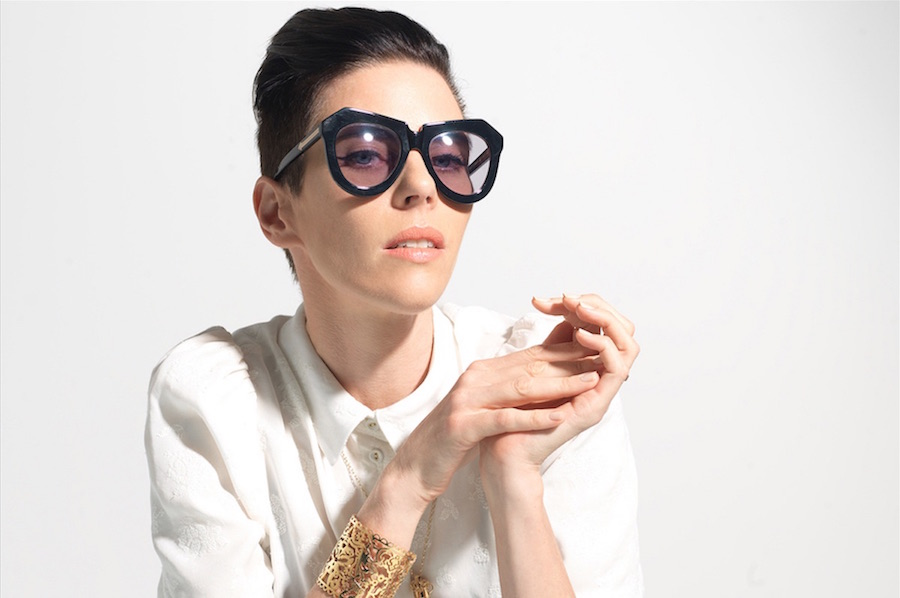 Karen Walker doesn't need your New York Fashion shows, she's got better things to do