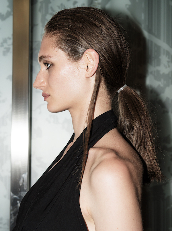 How-to: grunge-inspired ponytail