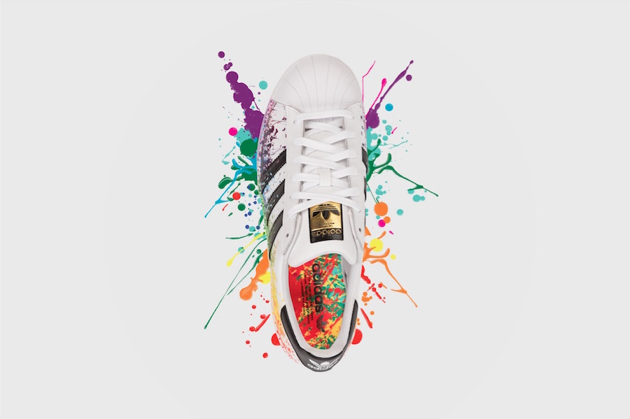 adidas Originals honours LGBT history month with the Pride pack