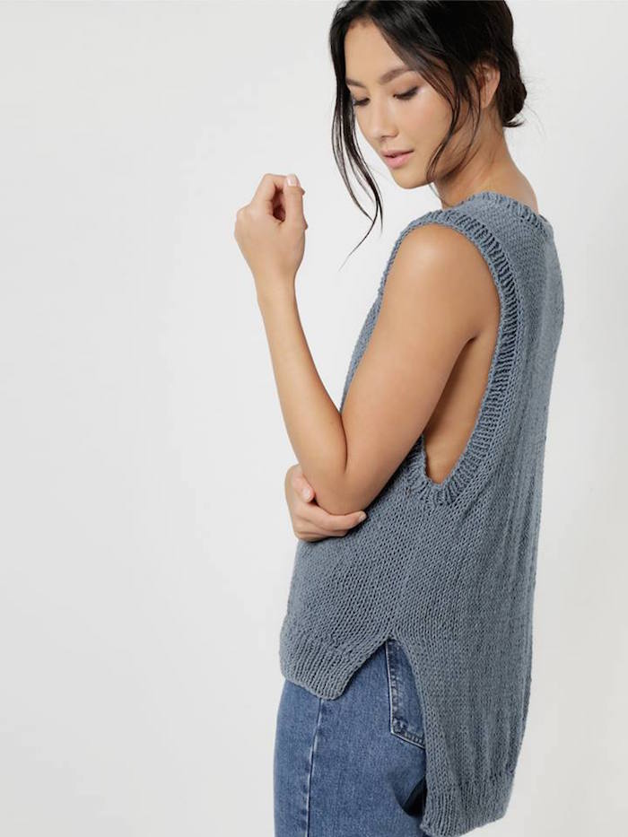 Some legends have invented yarn made entirely from upcycled denim