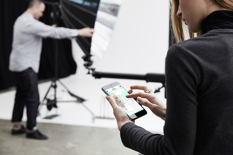 This app is connecting you with creatives in the fashion industry