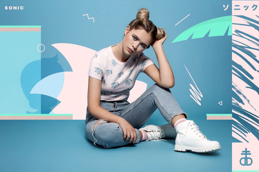 Drop Dead Clothing has released a Sonic the Hedgehog collection